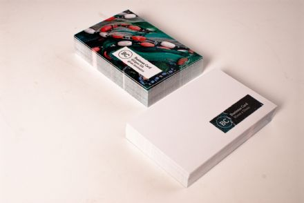Gloss Laminated Business Cards Double Sided